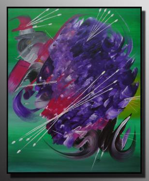 LE TOURBILLON  Taille : 46X55 Peinture abstraite   Acrylique au couteau/pinceau Toile sur ch�ssis bois Cotation Drouot Site officiel : http://www.mapeinturesurtoile.com Prix : me contacter