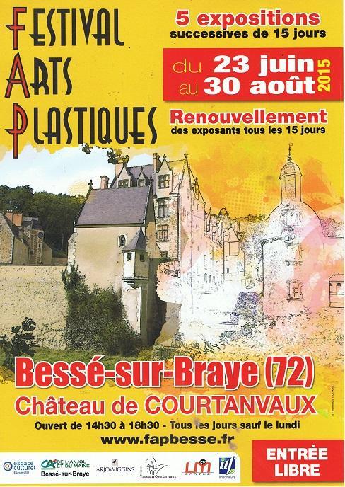 Actualité de NICOLE BOURGAIT CONCEPT VEGETAL FESTIVAL D'ARTS PLASTIQUES A BESSE SUR BRAYE 72