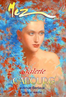 affiche - Cheveux bleus MEZ Cabourg