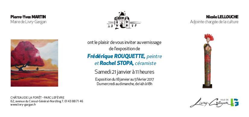 Actualité de Frédérique ROUQUETTE Artiste Libre EXPOSITION