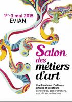 SALON DES METIERS D'ART A EVIAN  , CHRISTIAN LECLERCQ EMAUX D'ART DE LONGWY