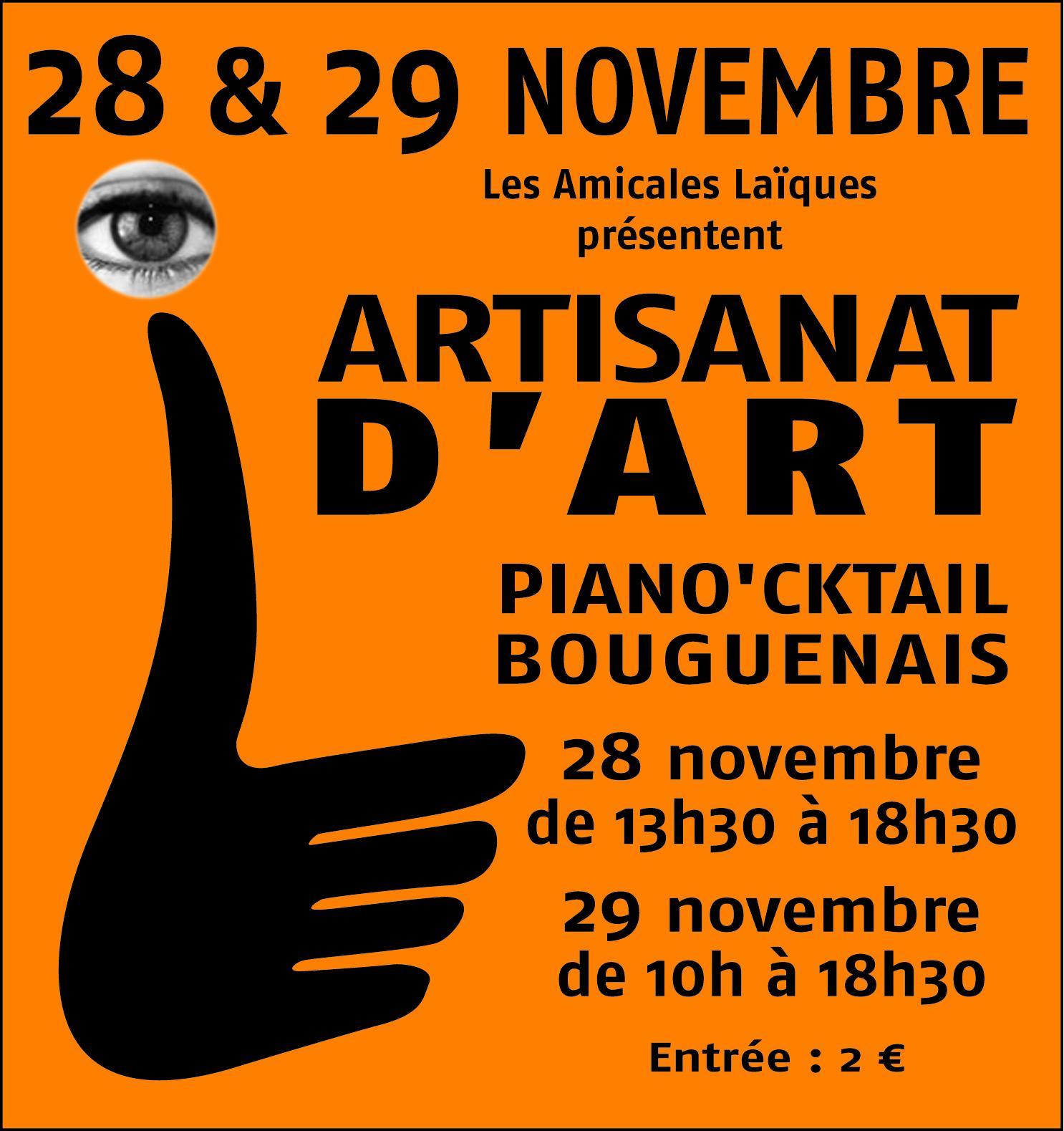 Actualité de Valérie Bourdon Bout d'Choco Salon d'Artisanat d'art Piano'cktail Bouguenais