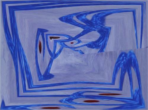 A L'ENVERS.-Transfiguration du tableau