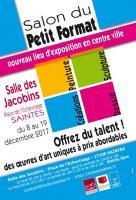 Salon du Petit Format à Saintes , Françoise Bolloré