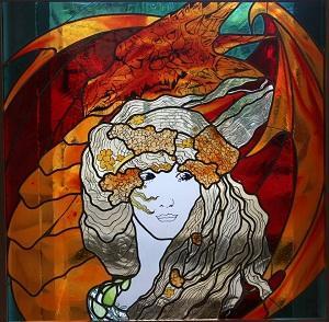 Mélusine, femme dragon