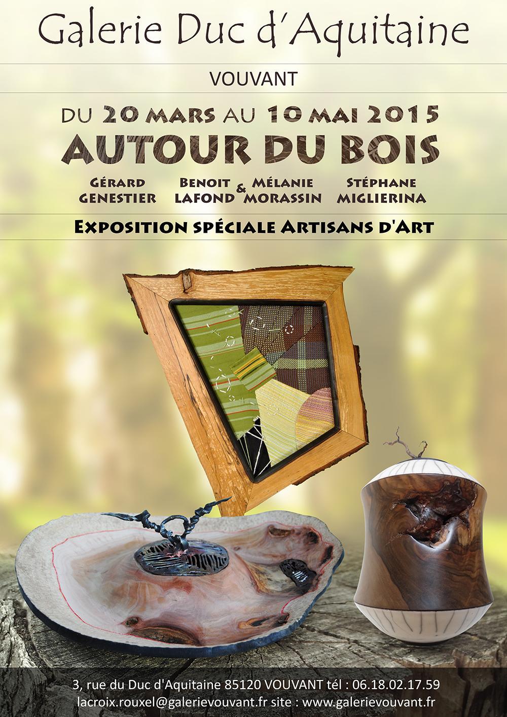 Actualité de L'atelier de mélanie Exposition Autour du Bois