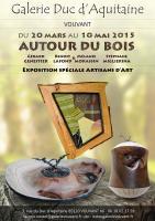 Exposition Autour du Bois , L'atelier de mélanie