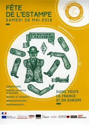 Actualité de Jean-Pierre GUAY Atelier d'estampe Croqu'Vif ® 6ÈME FÊTE DE L'ESTAMPE