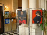 36 ème Exposition d'Arts Plastiques d'Etain  , francine D'oliveira Rezende artiste peintre