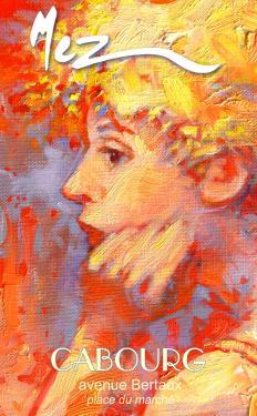 affiche - songe rouge détail MEZ Cabourg