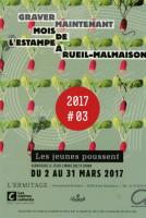 LES JEUNES POUSSENT , Jean-Pierre GUAY Atelier d'estampe Croqu'Vif ®