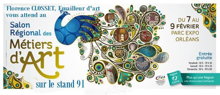 Actualité de EMAUX D'ART CLOSSET Création Salon Régional des Métiers d'Art