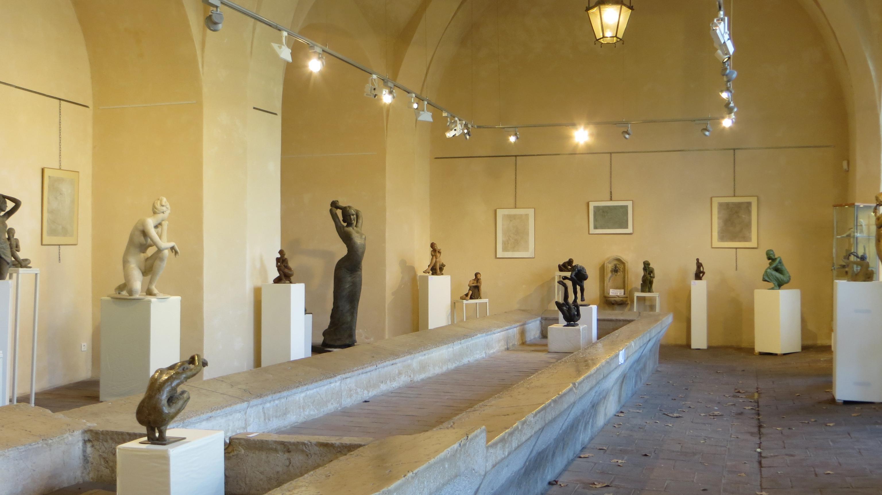 Actualité de BEATRICE POTHIN GALLARD exposition sculptures Béatrice Pothin Gallard
