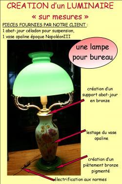 Une grosse lampe