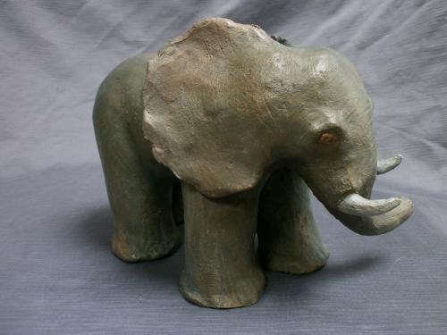 Eléphant ,vendu à l'Atelier des Loys.