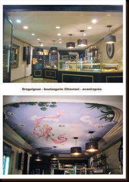 plafond de boulangerie