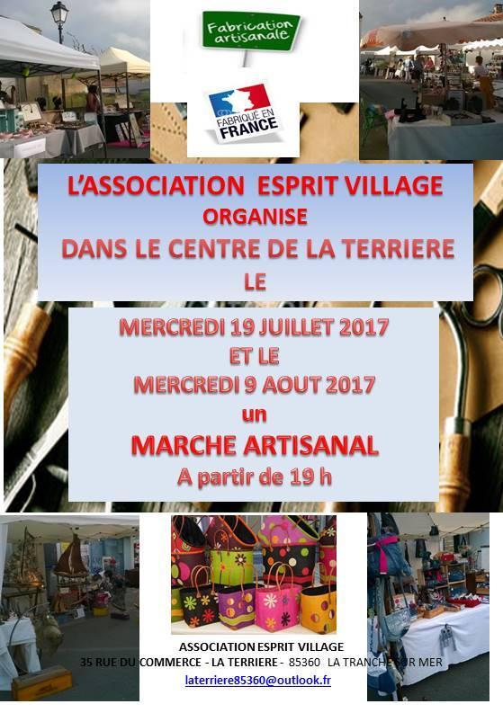 Actualité de   Esprit Village Marché artisanal