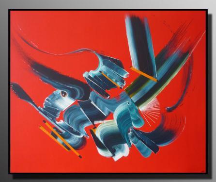 REBELLION Taille : 61X50 Peinture abstraite   Acrylique au couteau/pinceau Toile sur ch�ssis bois Cotation Drouot Site officiel : http://www.mapeinturesurtoile.com Prix : me contacter