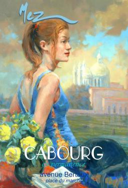 affiche - Femme chat MEZ Cabourg