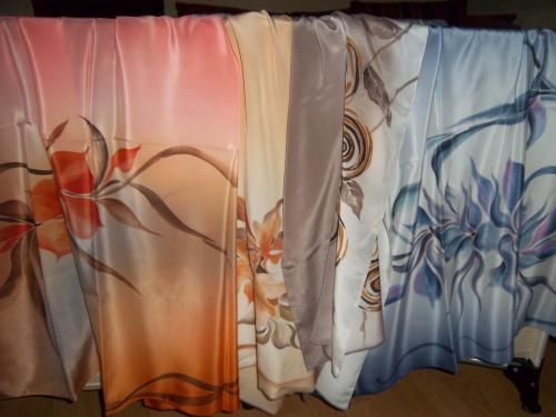foulard EN SOIE a partir  de 18e cr�ation unique