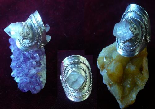 Cristal de roche d'Ajanta, Inde 2012