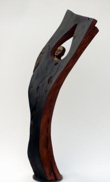 Etat d'arbre Assemblage Bois et bronze