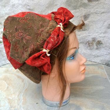 Chapeau femme en velours