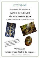 Actualité de NICOLE BOURGAIT CONCEPT VEGETAL RETROSPECTIVE NICOLE BOURGAIT