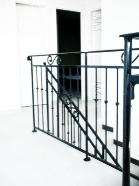 garde corps couleur Ral noir brillant 400/mètre linéaire.