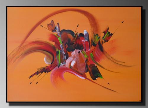 FARANDOLE DE COULEURS Taille : 50X70 Peinture abstraite   Acrylique au couteau/pinceau Toile sur ch�ssis bois Cotation Drouot Site officiel : http://www.mapeinturesurtoile.com Prix : me contacter