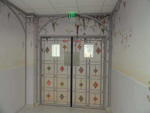 création de décors peints pour le service néonatalogie (voir la galerie)
