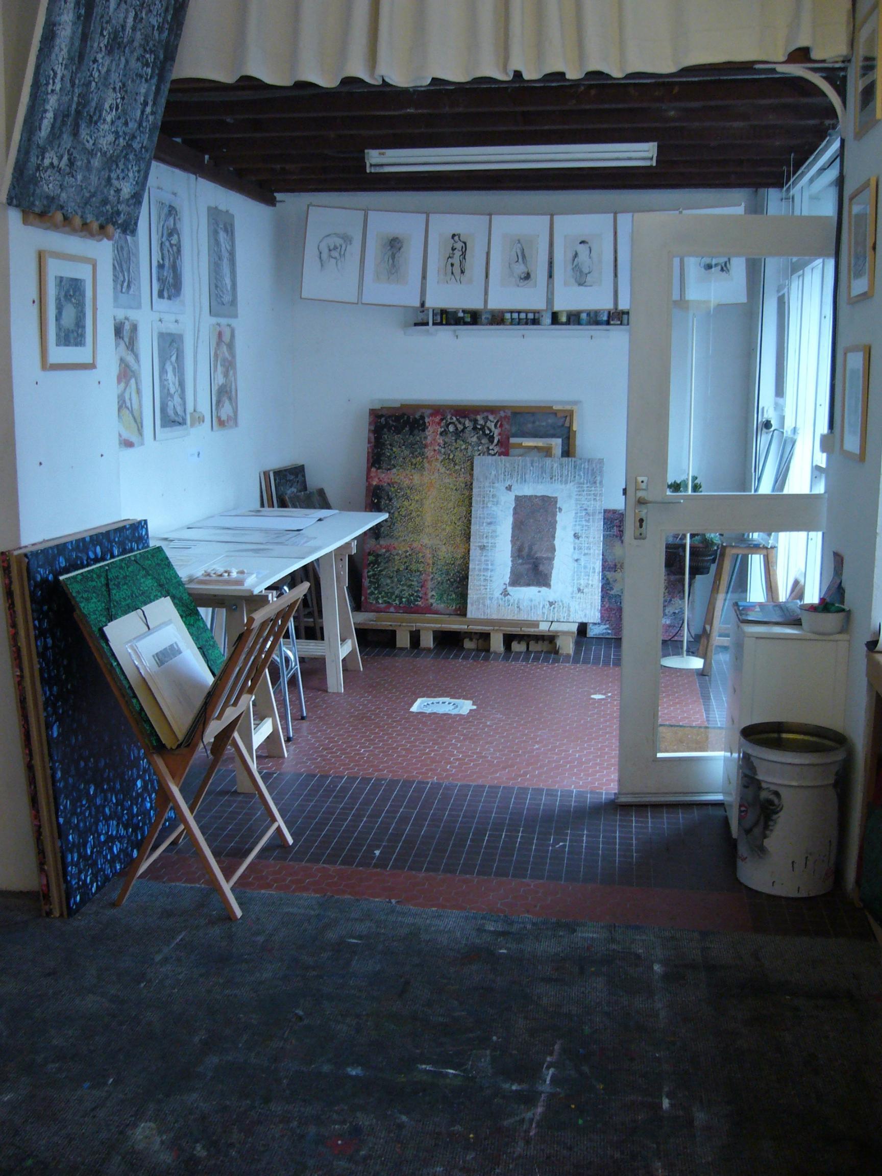 Actualit� de Sophie Casalis Peintre- Illustratrice Portes ouvertes Ateliers Montreuil