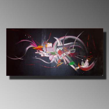 REVERIES Taille : 100X50 Peinture abstraite   Acrylique au couteau/pinceau Toile sur châssis bois Cotation Drouot Site officiel : http://www.mapeinturesurtoile.com Prix : me contacter