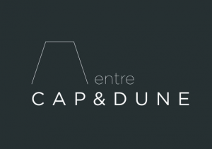Logo de valerie manaud-millas entre CAP & DUNE_abat-jour du Bassin d'Arcachon