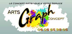 Logo de eric lefebvre Arts Graph Concept