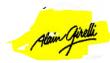 Logo de alain girelli artiste peintre ,sculpteur