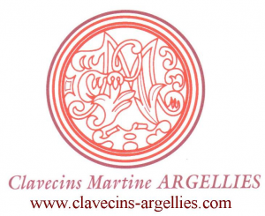 Logo de  Clavecins Martine Argellies Clavecins Martine Argellies