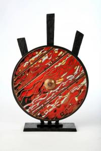 Logo de lydia truin rouges émail