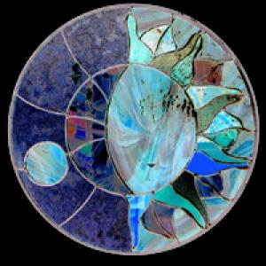 Logo de serge ELPHEGE artiste verrier