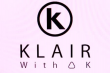 Logo de KLAIR with a K, atelier bon pied bon oeil
