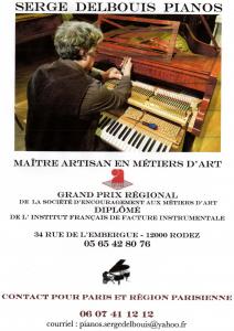 Logo de Serge Delbouis Pianos