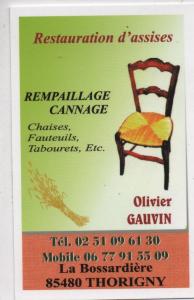 Logo de camille gauvin restauration d'assises