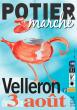 Marché potier de Velleron