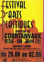 FESTIVAL D'ARTS PLASTIQUES : BESSE SUR BRAYE (72) , NICOLE BOURGAIT CONCEPT VEGETAL