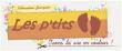 Logo de nadine JOUSSANT LES P'TITS PETONS