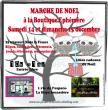 MARCHE DE NOEL A LA BOUTIQUE EPHEMERE