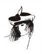 Logo de dominique chapre atelier d'art textile