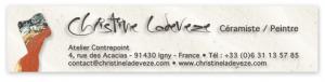 Logo de Christine LADEVEZE Atelier Contrepoint