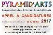 APPEL À CANDIDATURE SALON PYRAMID'ARTS