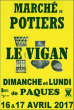 Marché de Potiers Le Vigan 2017